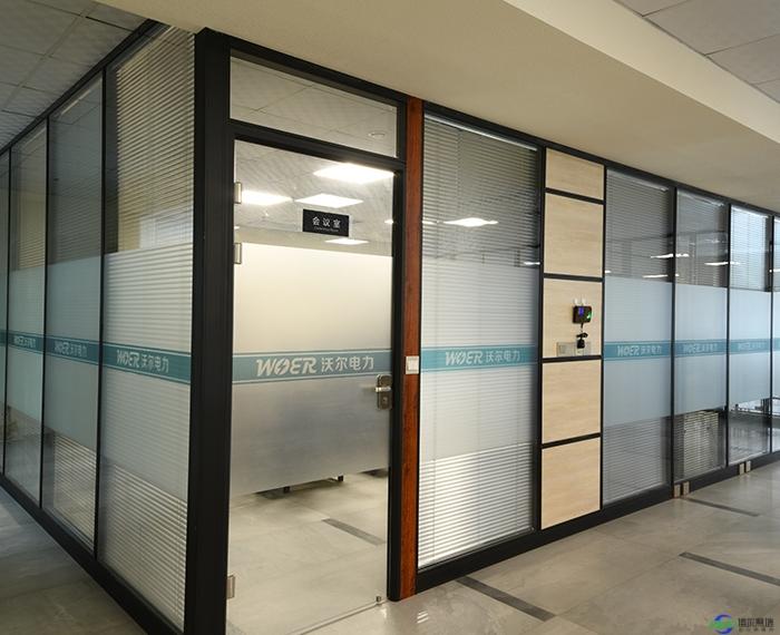 北京不锈钢玻璃隔断厂家博尔隔墙