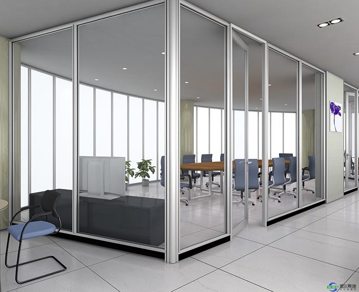 办公室安装办公室玻璃隔断的好处都有哪