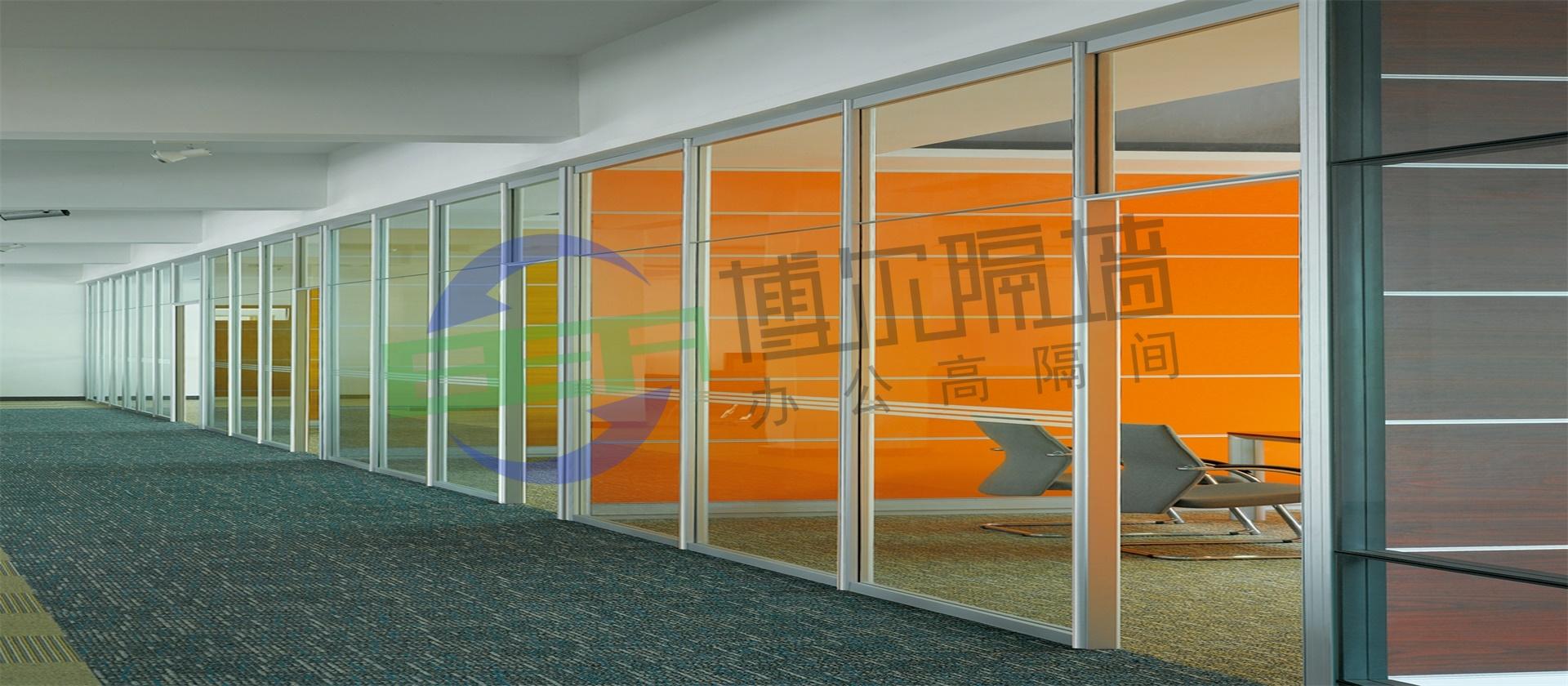 西安玻璃隔断墙施工