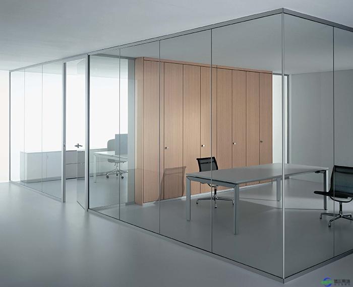 钢化玻璃隔断墙_钢化玻璃隔断墙价格是怎样的_办公高隔间_办公室玻璃隔断墙 ...